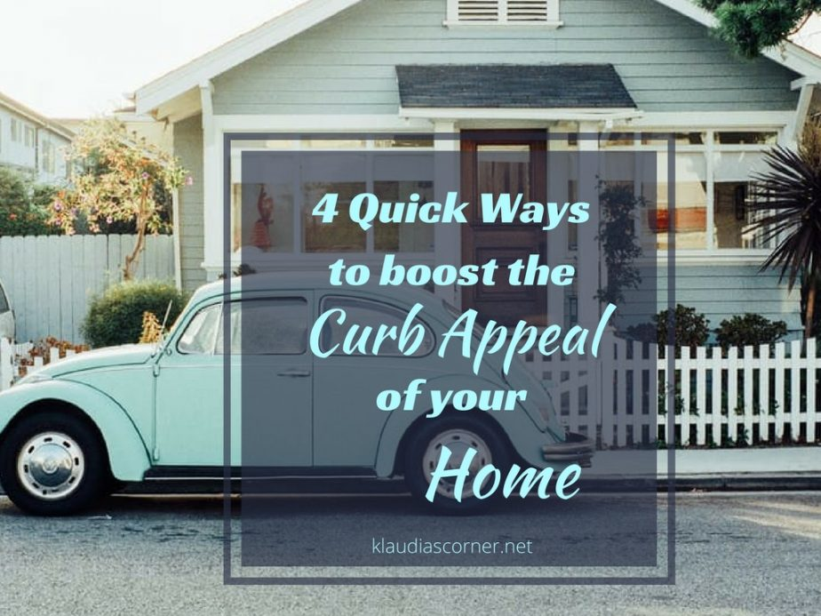 Curb appeal landscaping 4 quick ways to increase - Home selling four diy tricks to maximize the curb appeal ...