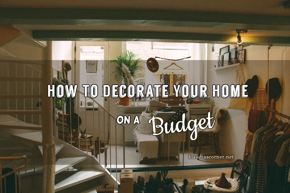 how to decorate new home on a budget cheap home