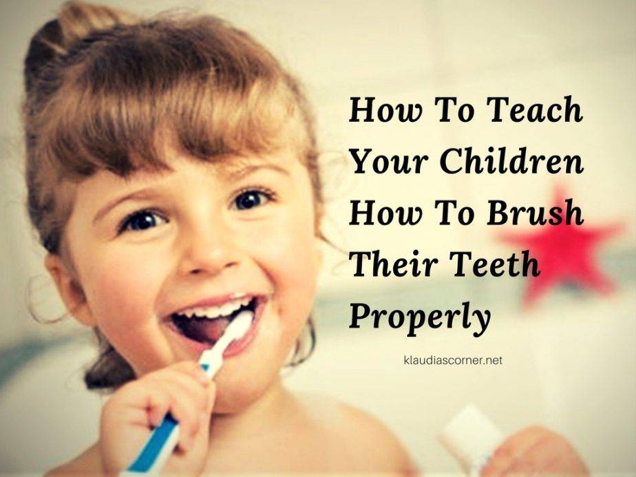 Oral Hygiene - How To Teach Your Children About Brushing Their Teeth
