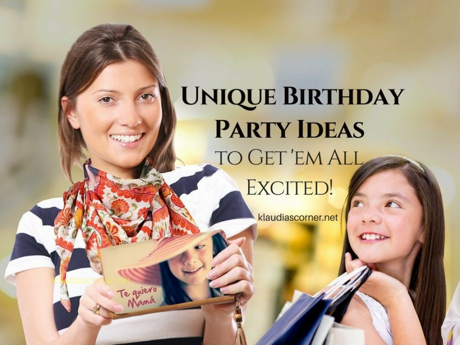Unique Birthday Party Ideas - Organizing a Trampoline Park Birthday Party